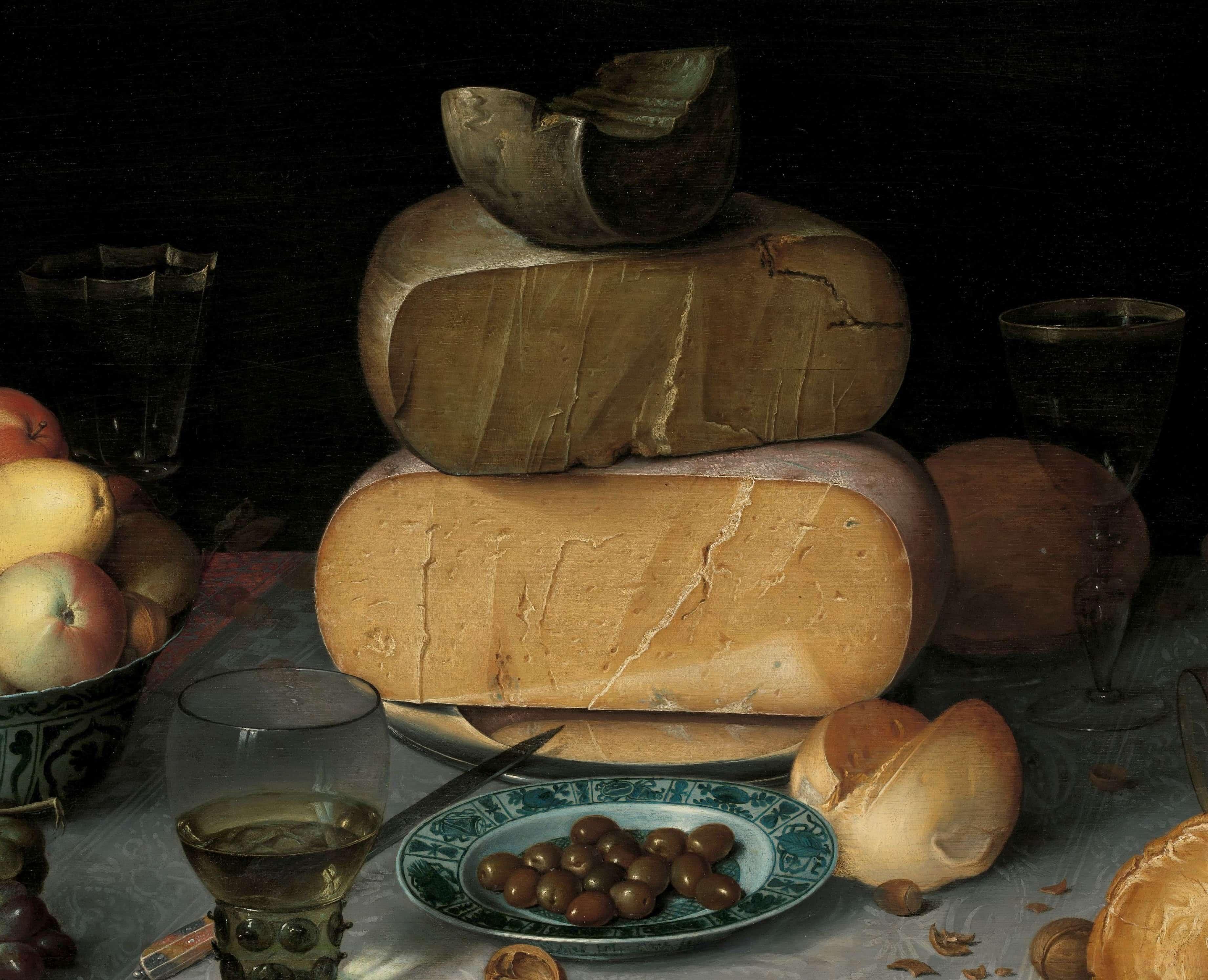 ´¡Pa-ta-ta!´, Un retrato de quesos holandeses en el siglo XVII